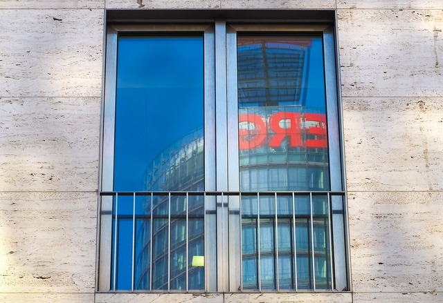 Window mirroring architecture, architecture buildings.