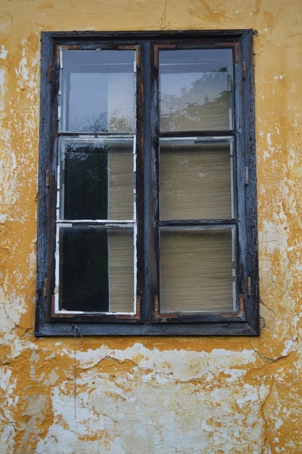 Window old farmhouse, architecture buildings.