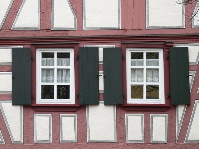 Window shutter wood shop, places monuments.