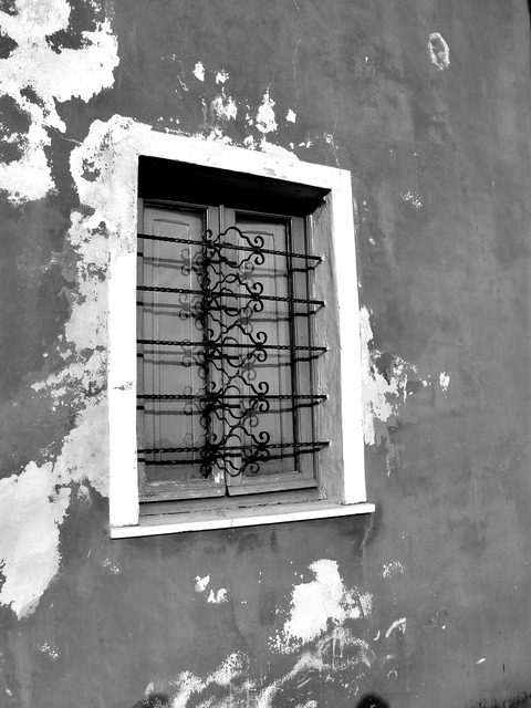 Window window grilles stained glass window.