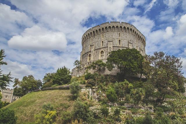 Windsor castle england, architecture buildings.