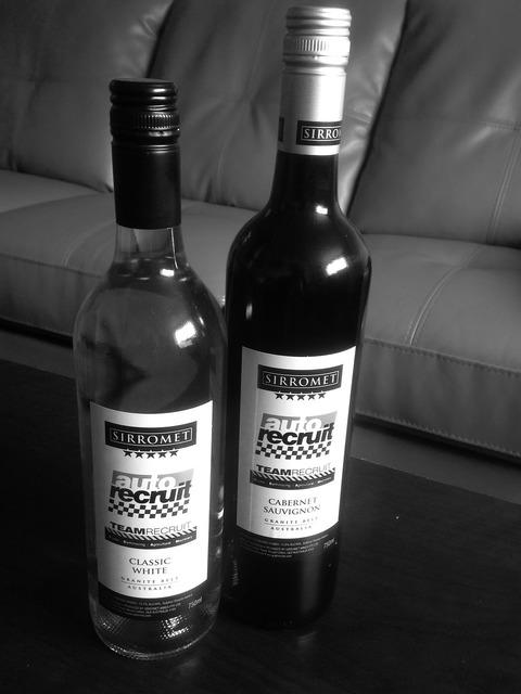 Wine branded marketing.
