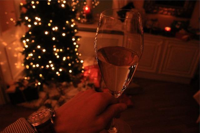 Wine glass christmas tree.
