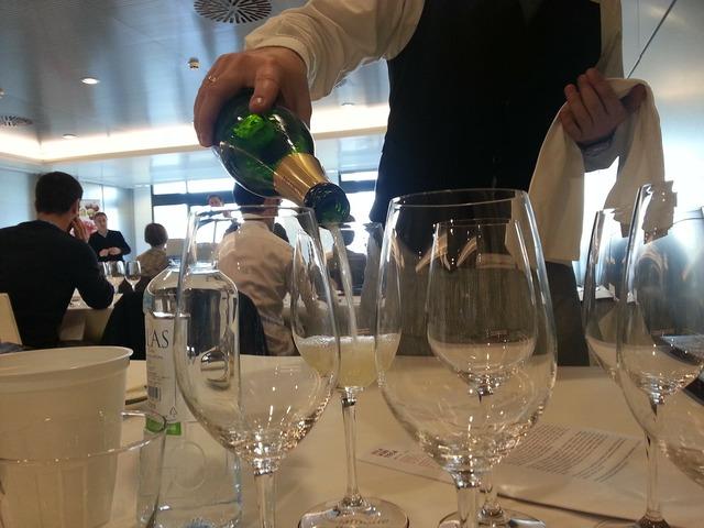 Wine tasting wine service champagne tasting.