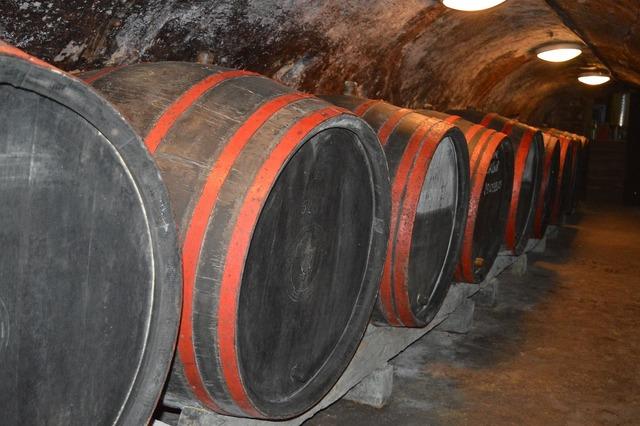 Wine wine barrels wine cellar.