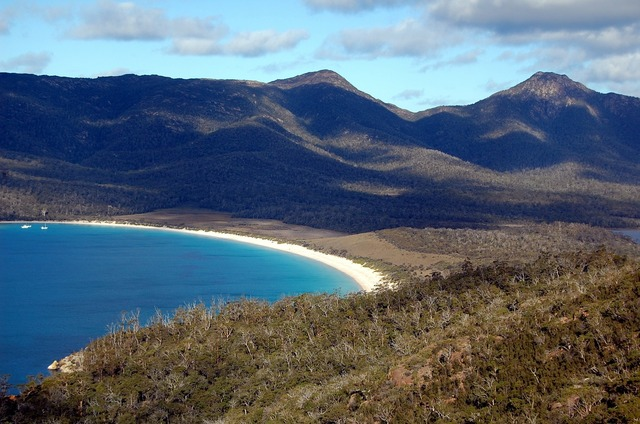 Wineglass bay tasmania australia, travel vacation.