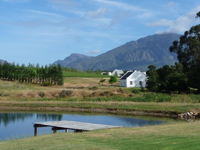 Winelands cape town south africa.