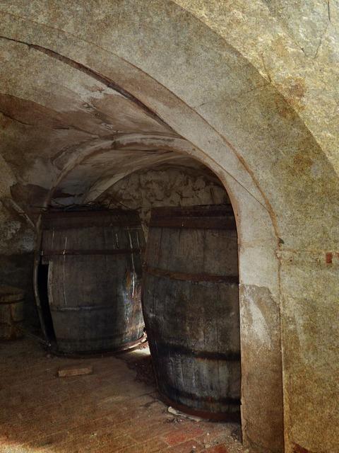 Winery barrel cask.