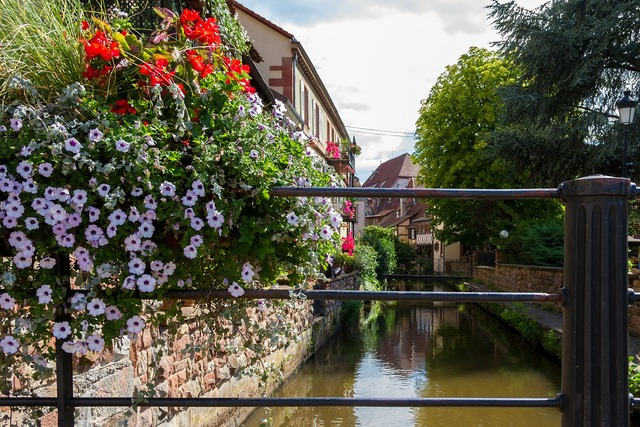 Wissembourg france old town.