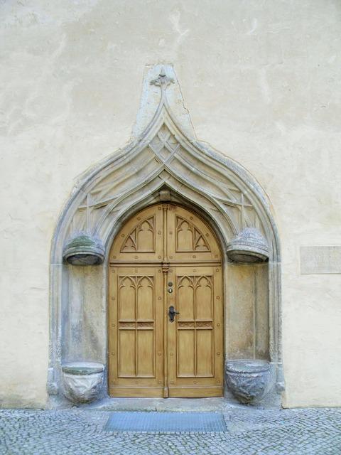 Wittenberg luther door, architecture buildings.