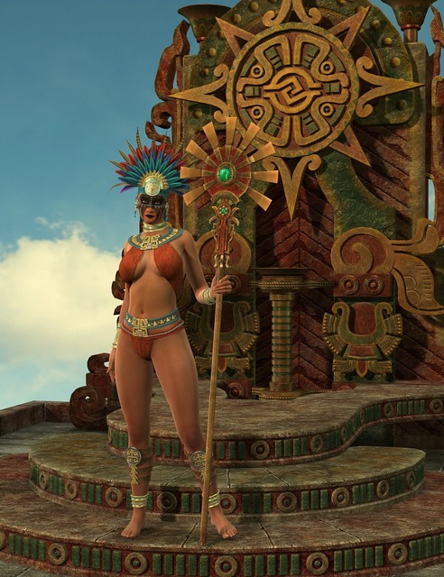 Woman amazone fantasy, beauty fashion.