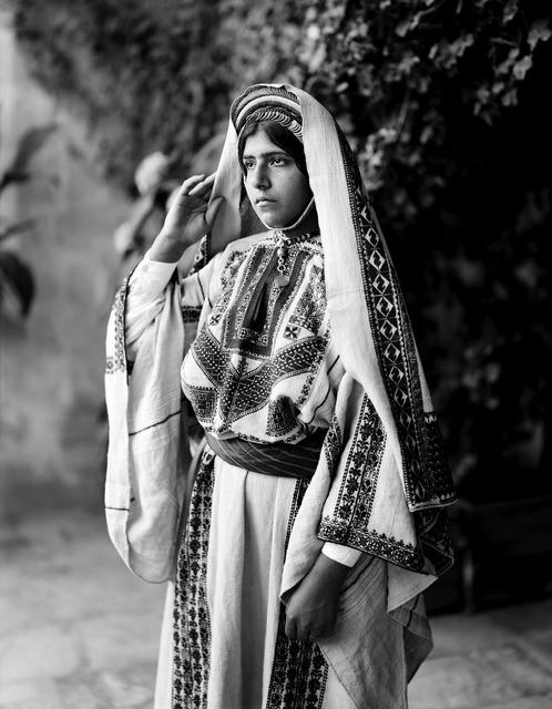 Woman costume traditionally, beauty fashion.
