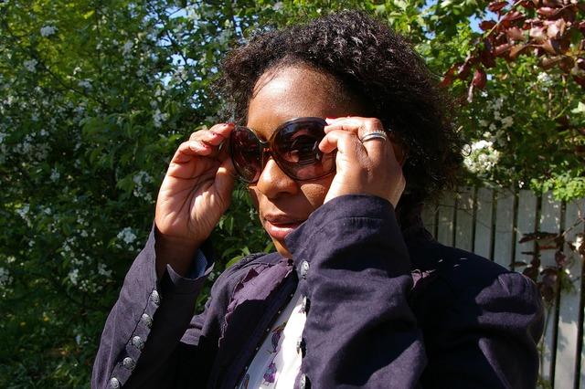 Woman middle-aged sunglasses, beauty fashion.