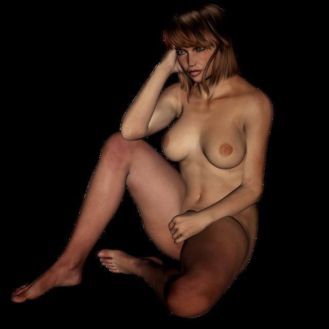 Woman naked chubby, beauty fashion.