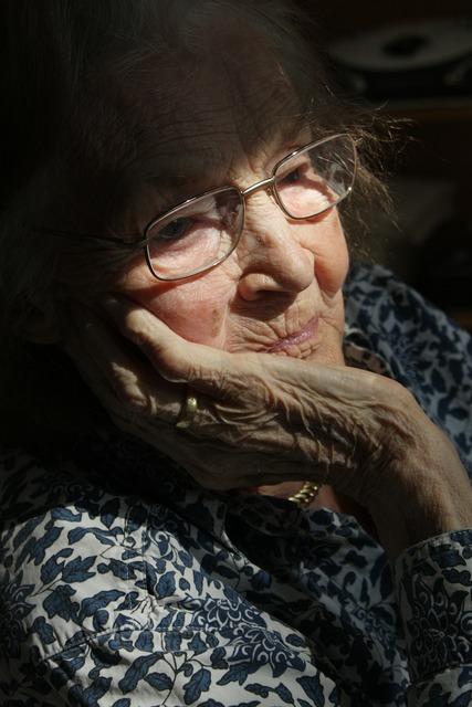Woman old age, beauty fashion.