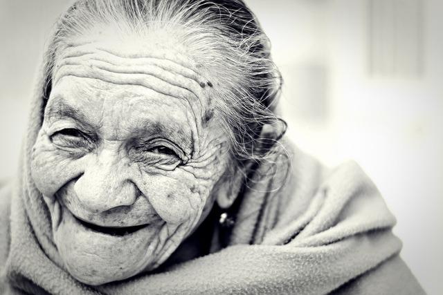 Woman old senior, beauty fashion.