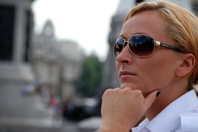 Woman person sun glasses, beauty fashion.