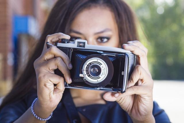 Woman photography young, beauty fashion.
