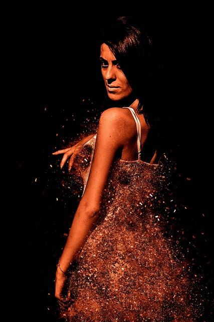 Woman pose dress, beauty fashion.