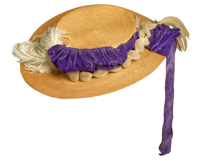 Womans seaside hat straw hat ladies hat, beauty fashion.