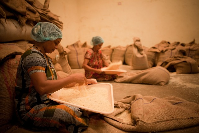 Women working work, industry craft.