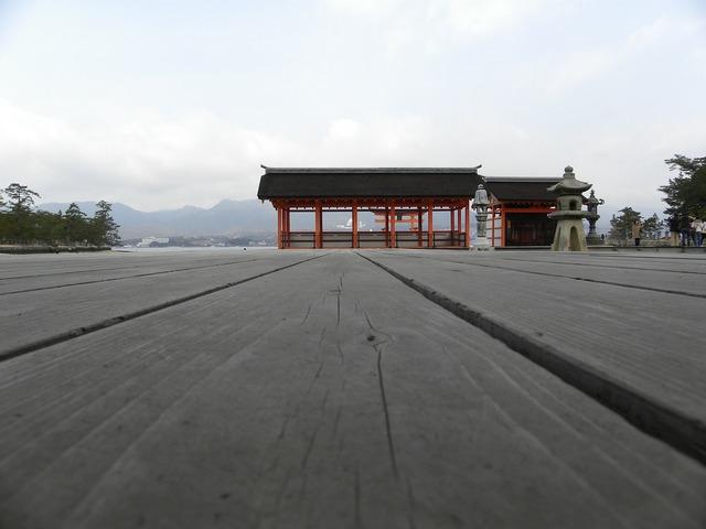 Wood board temple, religion.