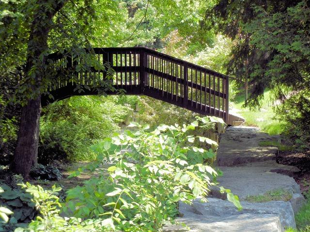 Wooden bridge ontario canada.