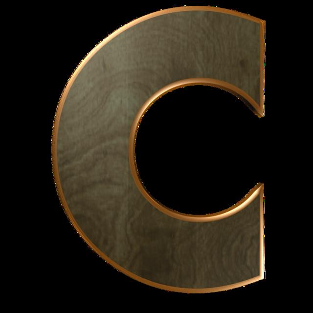 Wooden letter letter wood.