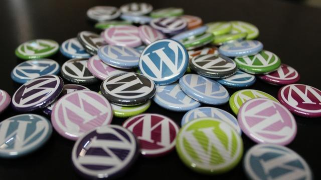 Wordpress badges buttons.