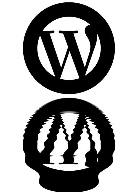 Wordpress cms blog.