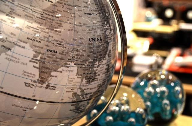 World ball atlas, business finance.