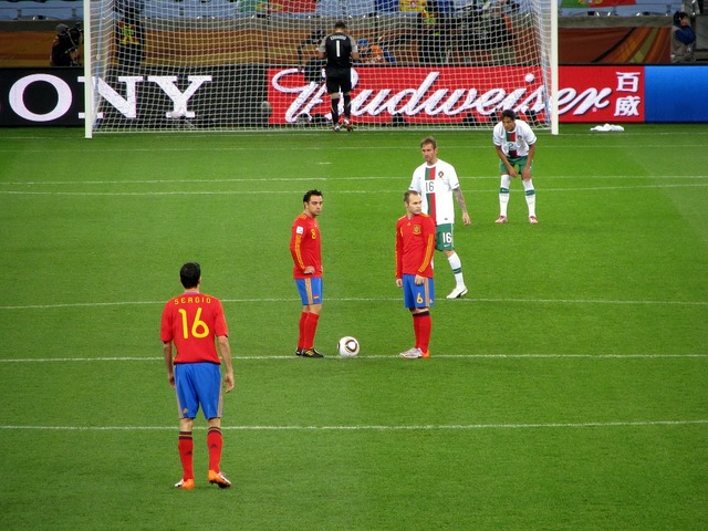 World cup 2010 spain portugal, sports.