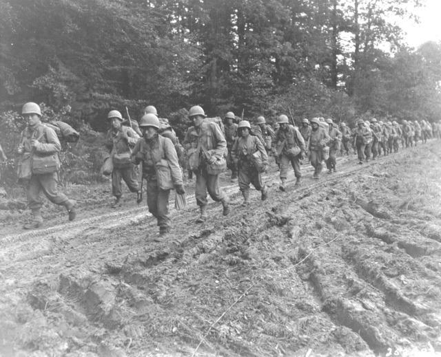World war ii 1944 france.