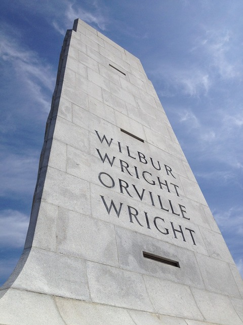 Wright brothers monument memorial, architecture buildings.