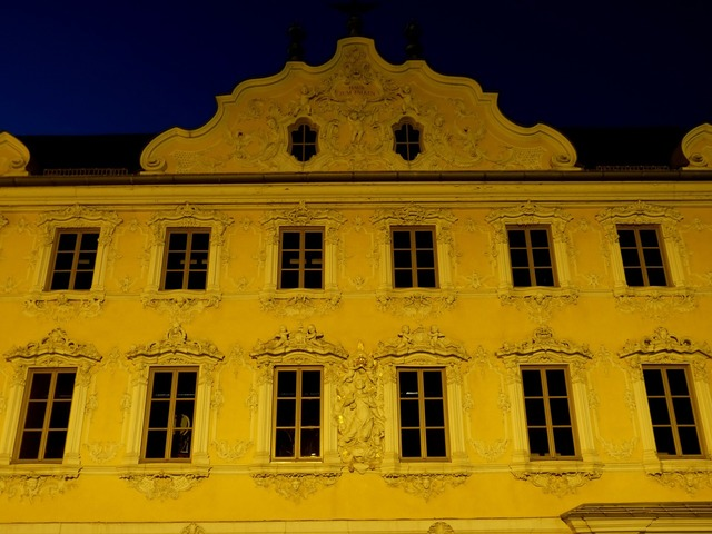 Würzburg bavaria night, architecture buildings.