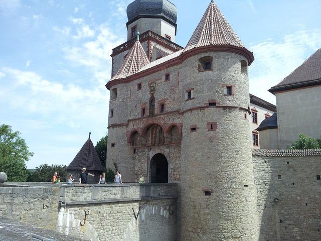 Würzburg castle tower.