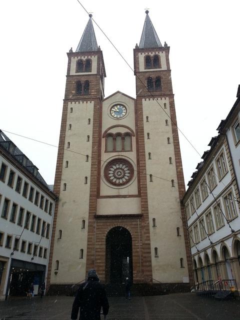Würzburg dom historically, religion.