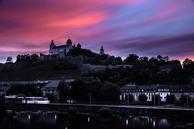 Würzburg fortress bavaria, travel vacation.