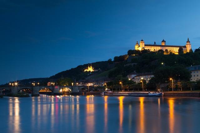 Würzburg fortress castle.