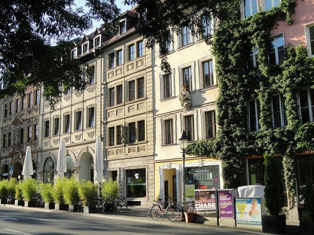 Würzburg germany city, architecture buildings.