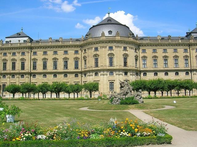 Würzburg residence castle.