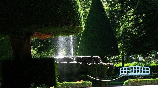 Würzburg residence garden.