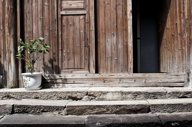 Wuzhen building ancient architecture, architecture buildings.