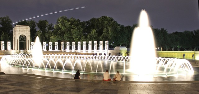 Wwii memorial dc, architecture buildings.