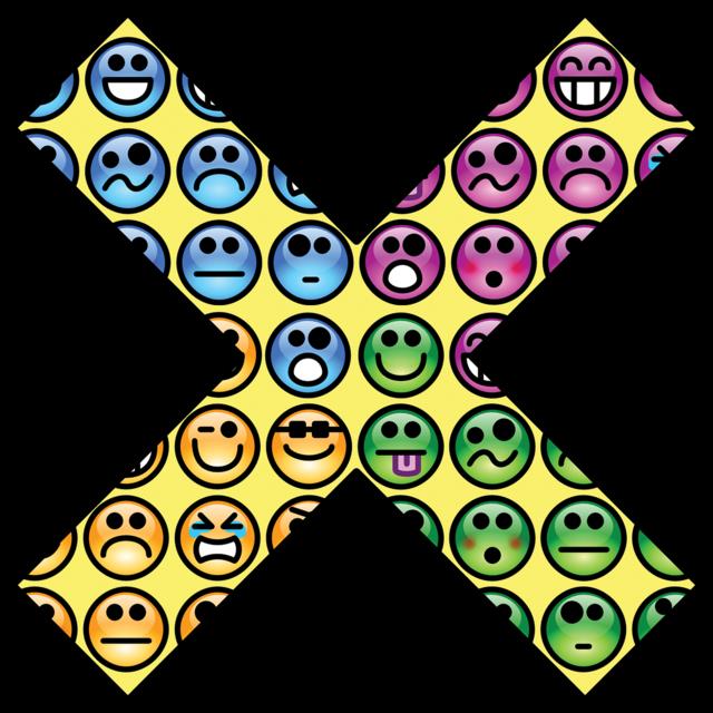 X smileys emoticon, emotions.
