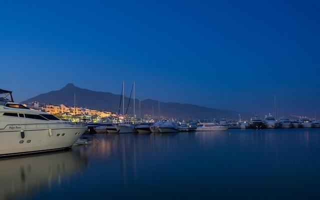 Yachts port marbella.