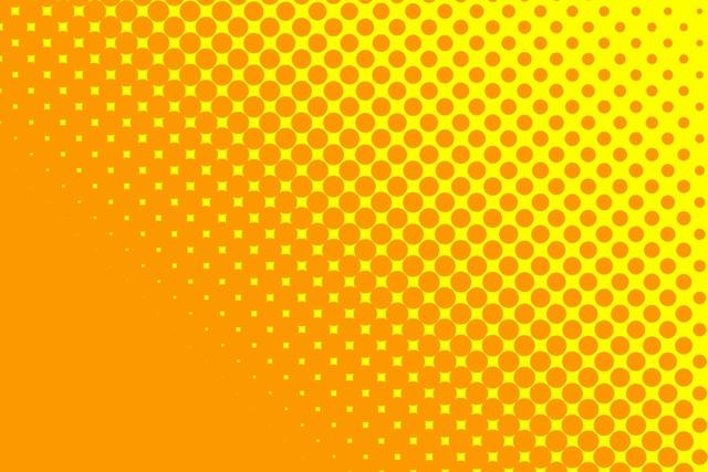 Yellow orange dots, backgrounds textures.