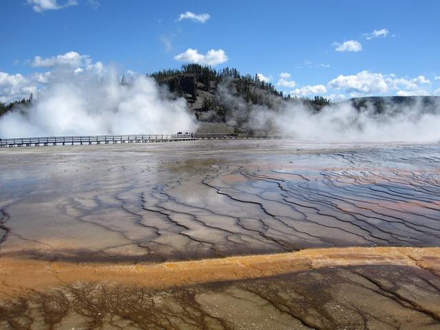 Yellowstone national park usa.