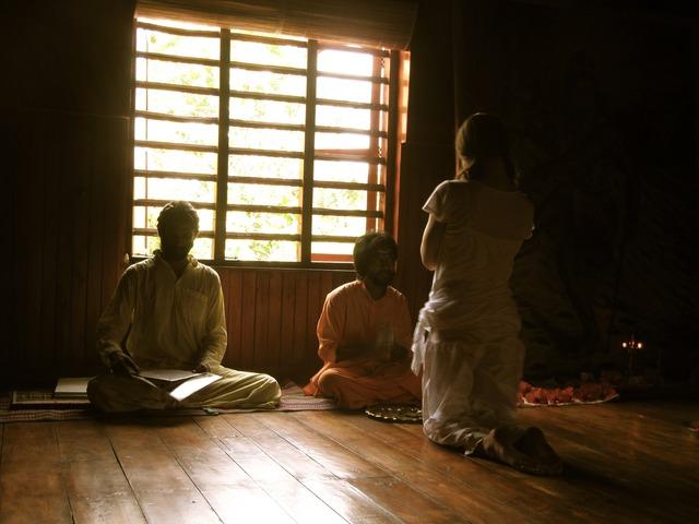 Yoga meditation guru.