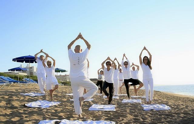 Yoga zen practicing yoga, sports.